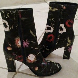 Matisse Floral Posey Leather Boots